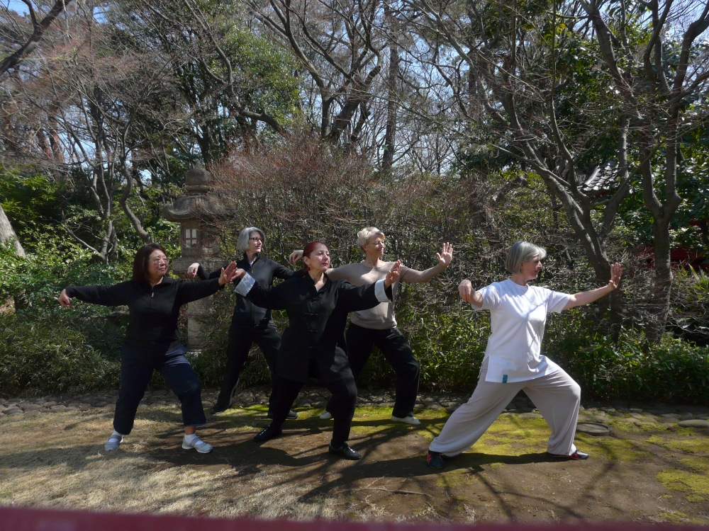Sharing the benefits of Tai Chi